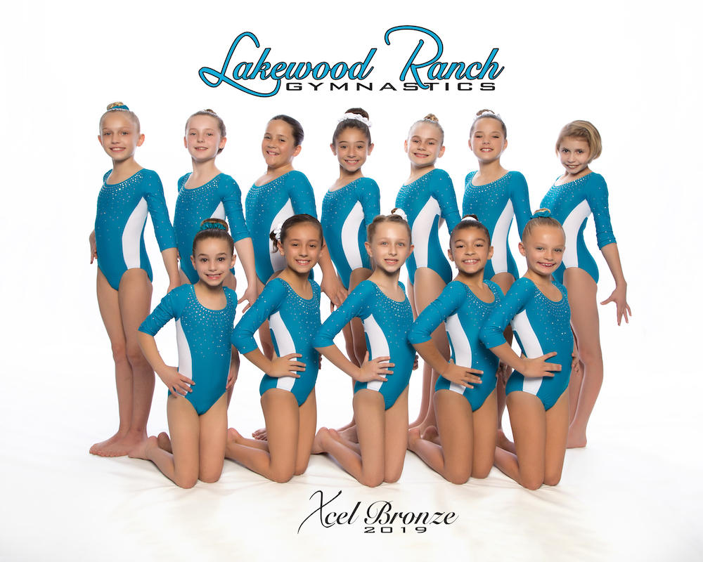 Lakewood Ranch Gymnastics Xcel Bronze