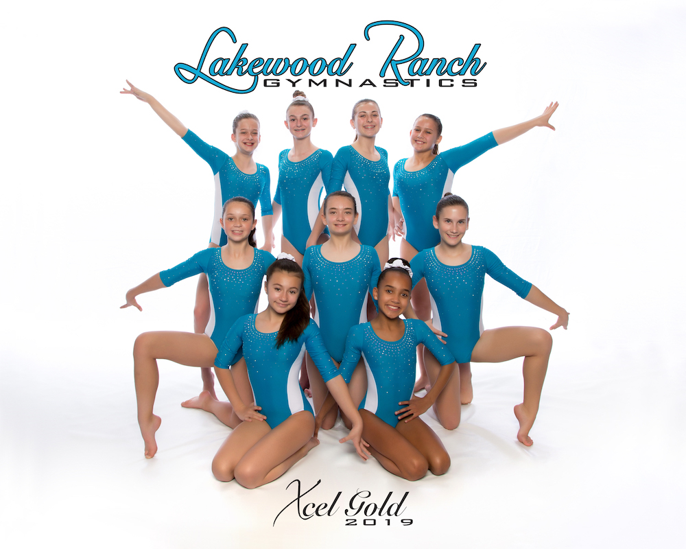 Lakewood Ranch Gymnastics Xcel Gold